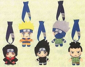 Naruto BanPresto Japanese Plush Wind Sash Belt Set