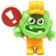 Moshi Monsters Moshlings 1.5 Inch Series 5 Mini Figure #M19 Roarker