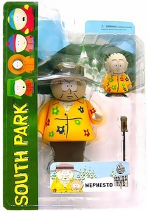 Mezco Toyz South Park Series 5 Action Figure Dr. Mephesto & Kevin