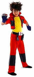 Disguise Costume Bakugan Battle Brawlers #50539 Dan Classic [Child Medium]