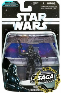 Star Wars Saga 2006 Basic Action Figure Exclusive Shadow Stormtrooper