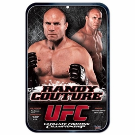 Wincraft UFC & MMA Mixed Martial Arts Sign Randy Couture