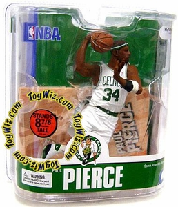 McFarlane Toys NBA Sports Picks Series 13 Action Figure Paul Pierce (Boston Celtics) White Jersey