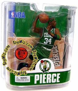 McFarlane Toys NBA Sports Picks Series 13 Action Figure Paul Pierce (Boston Celtics) Green Jersey Variant