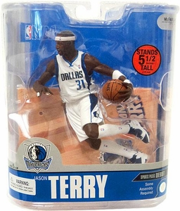 McFarlane Toys NBA Sports Picks Series 13 Action Figure Jason Terry (Dallas Mavericks) White Jersey