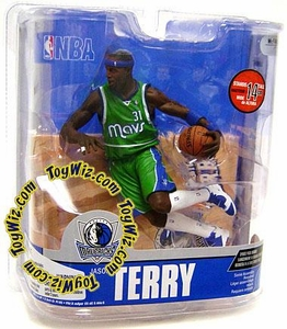 McFarlane Toys NBA Sports Picks Series 13 Action Figure Jason Terry (Dallas Mavericks) Green Jersey Variant