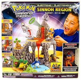 Pokemon Sinnoh Region Playset Version 1 [Exclusive Monferno Figure!]