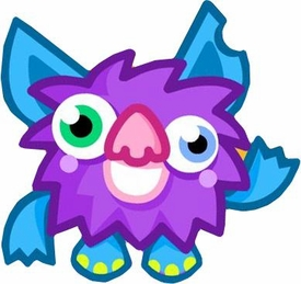 Moshi Monsters Series 4 Mini Figure #16 Shambles