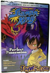 Shaman King DVD Vol. 2 - Perfect Possession (UNCUT)