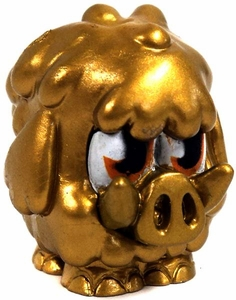 Moshi Monsters Moshlings 1.5 Inch Series 4 Mini Figure #58 GOLD Woolly BLOWOUT SALE!