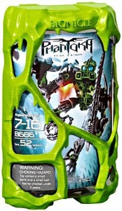 LEGO Bionicle PHANTOKA Figure #8686 Toa Lewa [Lime Green]