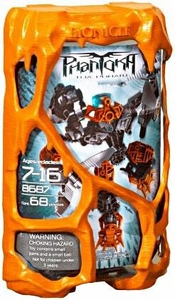 LEGO Bionicle PHANTOKA Figure #8687 Toa Pohatu [Orange]