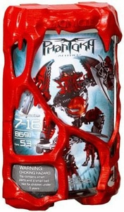 LEGO Bionicle PHANTOKA Figure #8691 Antroz [Red]