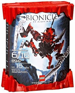 LEGO Bionicle Phantoka Matoran Set #8947 Radiak [Red]