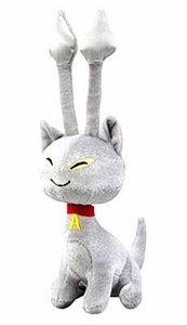 Neopets Collector Species Series 2 Plush with Keyquest Code Silver Aisha [Limited Edition]