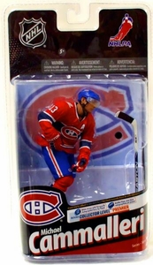 McFarlane Toys NHL Sports Picks Series 24 Action Figure Michael Cammalleri (Montreal Canadiens) Red Jersey Variant