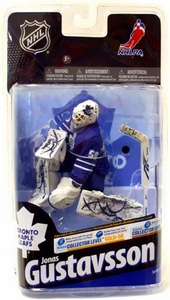McFarlane Toys NHL Sports Picks Series 24 Action Figure Jonas Gustavsson (Toronto Maple Leafs) Blue Jersey