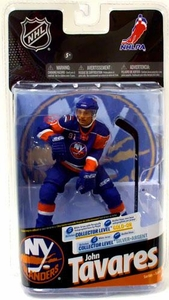 McFarlane Toys NHL Sports Picks Series 24 Action Figure John Tavares (New York Islanders) Blue Jersey