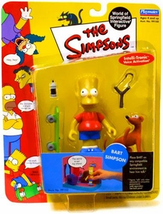 The Simpsons Wave 1 Playmates Action Figure Bart Simpson