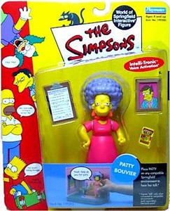 The Simpsons Series 4 Playmates Action Figure Patty Bouvier