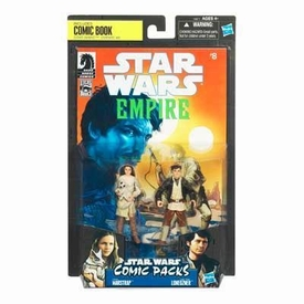 Star Wars 2010 Exclusive Comic Book Action Figure 2-Pack Dark Horse: Star Wars Empire #8 Camie Marstrap & Laze Fixer Loneozner
