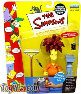 The Simpsons Series 9 Playmates Action Figure Prison Sideshow Bob