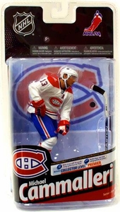 McFarlane Toys NHL Sports Picks Series 24 Action Figure Michael Cammalleri (Montreal Canadiens) White Jersey