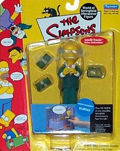 The Simpsons Wave 1 Playmates Action Figure Mr. Burns
