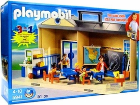 Playmobil School Set #5941 Take Along School