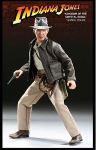 Sideshow Collectibles 12 Inch Action Figure Indiana Jones Kingdom of the Crystal Skull