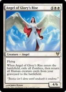 Magic the Gathering Avacyn Restored Single Card White Rare #1 Angel of Glory's Rise