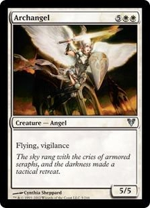 Magic the Gathering Avacyn Restored Single Card White Uncommon #5 Archangel