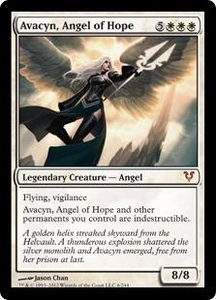 Magic the Gathering Avacyn Restored Single Card White Mythic Rare #6 Avacyn, Angel of Hope Japanese!