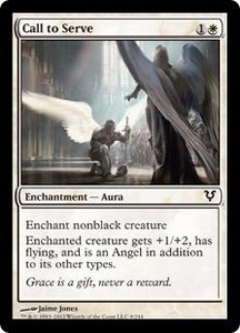 Magic the Gathering Avacyn Restored Single Card White Common #9 Call to Serve