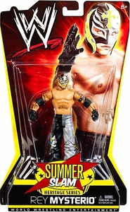 Mattel WWE Wrestling Summer Slam Heritage Series Action Figure Rey Mysterio [2006] BLOWOUT SALE!