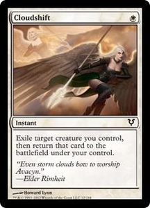 Magic the Gathering Avacyn Restored Single Card White Common #12 Cloudshift