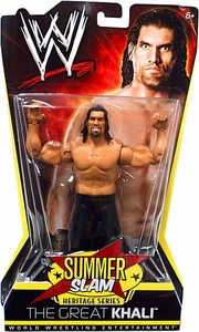 Mattel WWE Wrestling Summer Slam Heritage Series Action Figure Great Khali [2008]