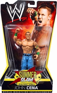Mattel WWE Wrestling Summer Slam Heritage Series Action Figure John Cena [2009]