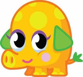 Moshi Monsters Moshlings 1.5 Inch Series 1 Mini Figure #56 Mr. Snoodle