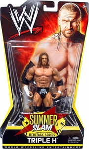 Mattel WWE Wrestling Summer Slam Heritage Series Action Figure Triple H [2007] BLOWOUT SALE!