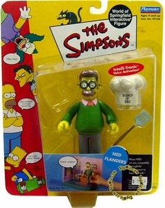 The Simpsons Wave 2 Playmates Action Figure Ned Flanders