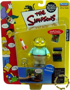 The Simpsons Series 4 Playmates Action Figure Ralph Wiggum