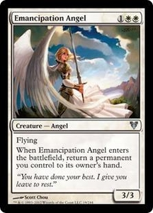 Magic the Gathering Avacyn Restored Single Card White Uncommon #19 Emancipation Angel