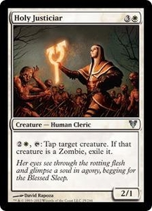 Magic the Gathering Avacyn Restored Single Card White Uncommon #25 Holy Justiciar