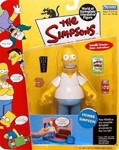 The Simpsons Wave 1 Playmates Action Figure Homer Simpson