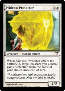 Magic the Gathering Avacyn Restored Single Card White Common #28 Midvast Protector