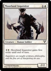 Magic the Gathering Avacyn Restored Single Card White Common #30 Moorland Inquisitor