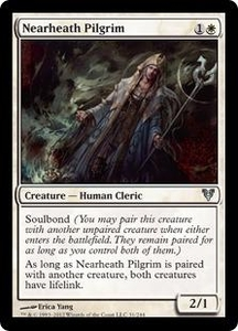 Magic the Gathering Avacyn Restored Single Card White Uncommon #31 Nearheath Pilgrim