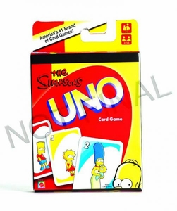 The Simpsons Uno Card Game