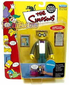 The Simpsons Wave 2 Playmates Action Figure Smithers